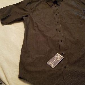 Consensus Shirts - Sz LT button up front open pocket